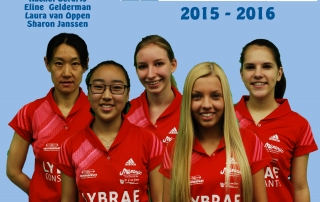 Teamfoto Dames 1 2015 versie 04groot