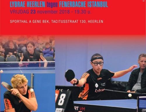 """Europacup 3e ronde op 23 november in """"A Gene Bek"""": bijna UITVERKOCHT, nog paar kaarten in voorverkoop"""