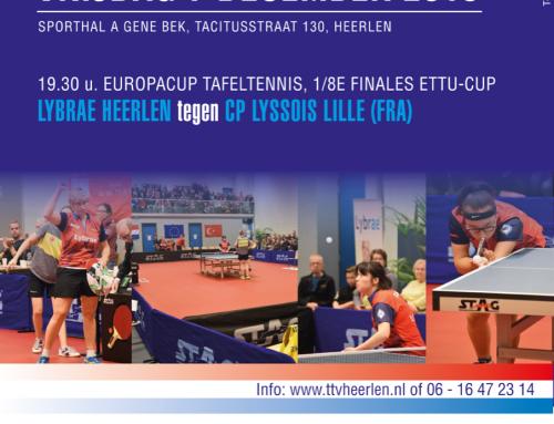 Kaartverkoop 1/8e finale EC tegen Lille
