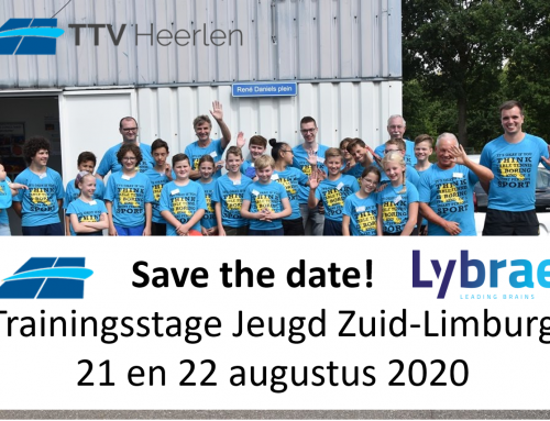 Save the date: Trainingsstage 2020
