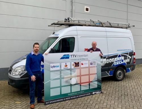 """Van den Boogaard Reclame B.V. geeft vorm aan nieuw sponsor initiatief """"Vrienden van de Witch Hill"""""""